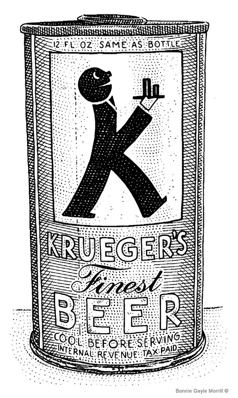Krueger Beer Can